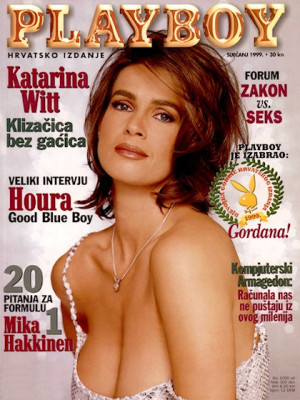 Playboy Croatia - Jan 1999