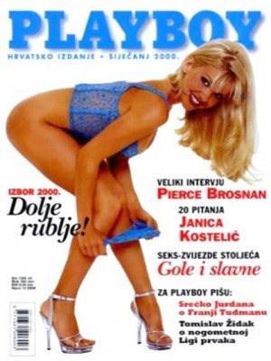 Playboy Croatia - Jan 2000