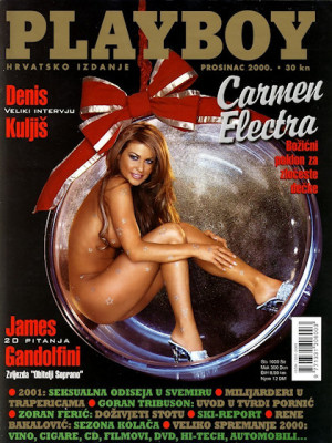 Playboy Croatia - Dec 2000
