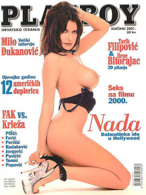 Playboy Croatia - Jan 2001