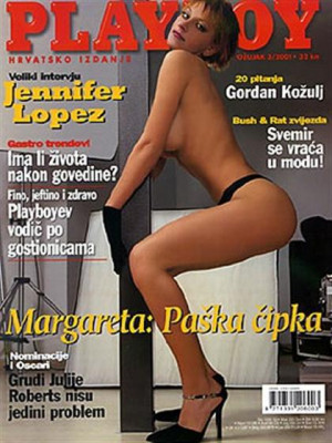 Playboy Croatia - March 2001