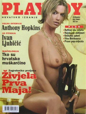 Playboy Croatia - May 2001