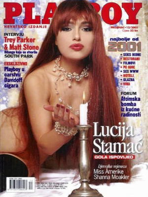 Playboy Croatia - Dec 2001