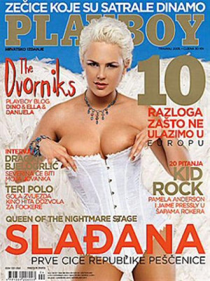 Playboy Croatia - April 2005