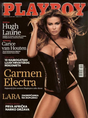 Playboy Croatia - Feb 2009