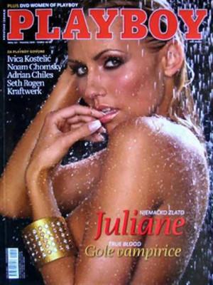 Playboy Croatia - April 2009