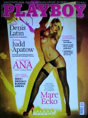 Playboy Croatia - Aug 2009