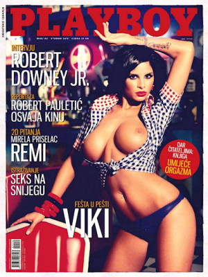 Playboy Croatia - Nov 2010
