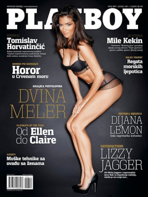 Playboy Croatia - June 2011