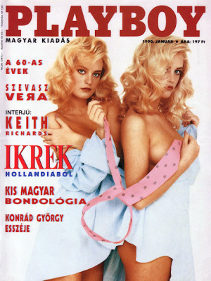 Playboy Hungary - January 1990