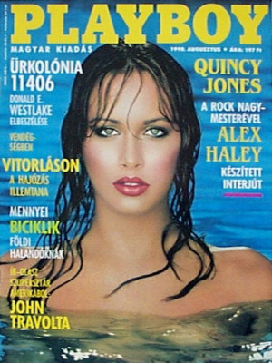 Playboy Hungary - August 1990