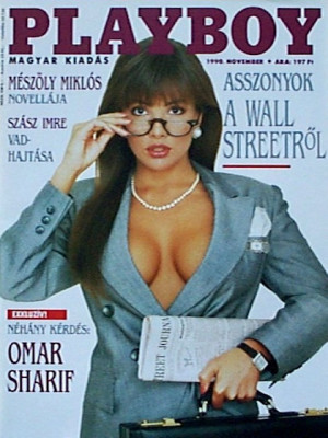 Playboy Hungary - Nov 1990