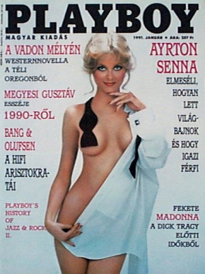 Playboy Hungary - January 1991