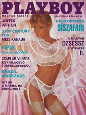 Playboy Hungary - Feb 1991
