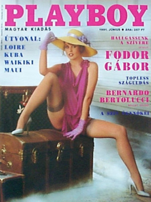 Playboy Hungary - June 1991