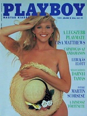 Playboy Hungary - July 1991