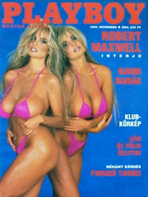 Playboy Hungary - Nov 1991