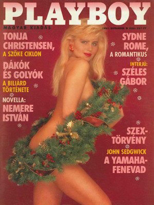 Playboy Hungary - Dec 1991