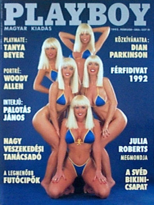 Playboy Hungary - Feb 1992