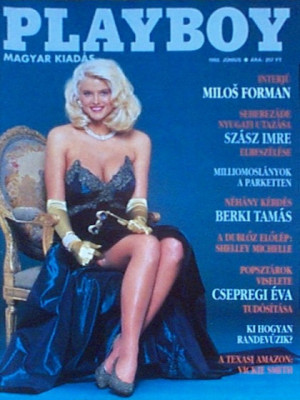 Playboy Hungary - June 1992