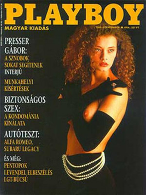 Playboy Hungary - Sep 1992