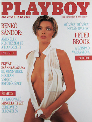Playboy Hungary - Nov 1992