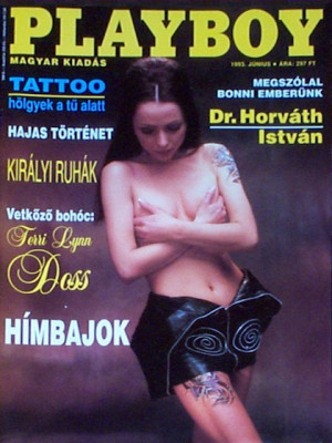 Playboy Hungary - June 1993