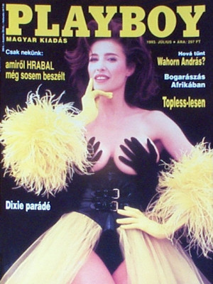 Playboy Hungary - July 1993