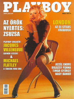 Playboy Hungary - July 2000