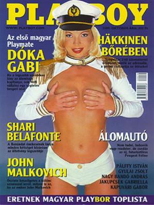 Playboy Hungary - October 2000