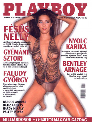 Playboy Hungary - Nov 2000
