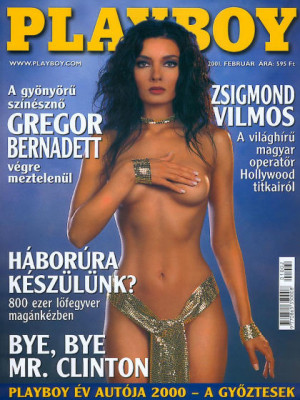 Playboy Hungary - Feb 2001