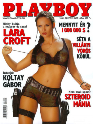 Playboy Hungary - Sep 2001