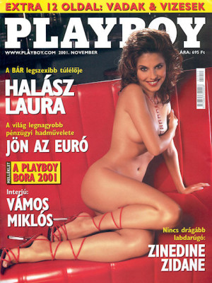 Playboy Hungary - Nov 2001
