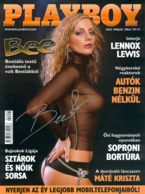 Playboy Hungary - May 2002