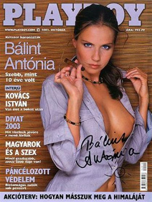 Playboy Hungary - October 2002