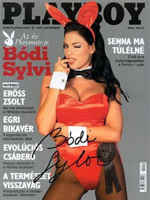 Playboy Hungary - Nov 2002