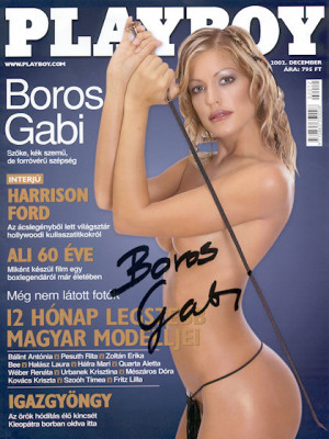Playboy Hungary - Dec 2002
