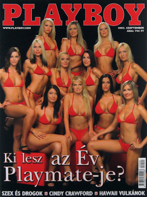 Playboy Hungary - Sep 2003