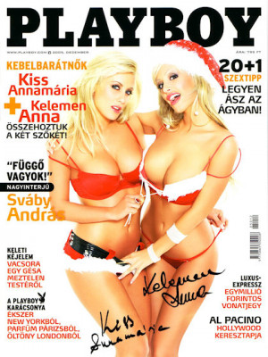 Playboy Hungary - Dec 2005