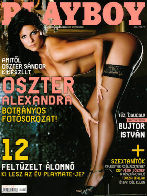 Playboy Hungary - Sep 2007