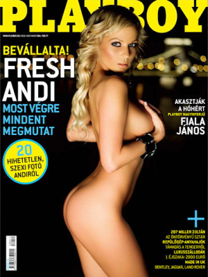 Playboy Hungary - Nov 2008