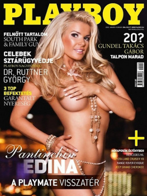 Playboy Hungary - January 2012