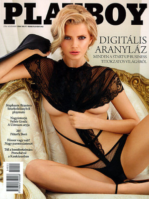 Playboy Hungary - Nov 2014
