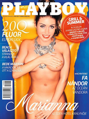 Playboy Hungary - July 2015