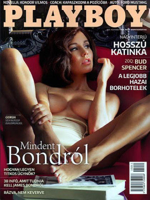 Playboy Hungary - Nov 2015