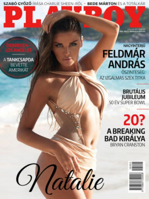 Playboy Hungary - Jan 2016