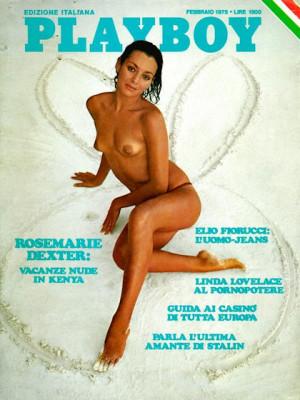 Playboy Italy - February 1975