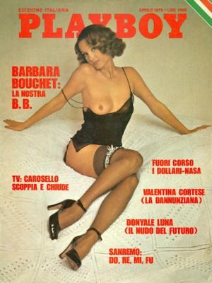 Playboy Italy - April 1975