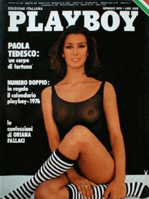 Playboy Italy - January 1976
